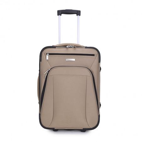 Decent Basic Line handbagage Koffer 53cm Upright Champagne