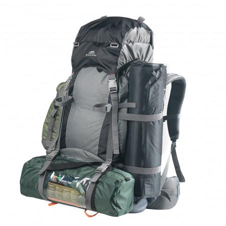 Dutch Mountains Backpack Maas 65+10L Groen