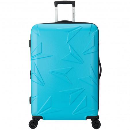 Decent Q-Luxx Koffer 77cm Expandable Blauw