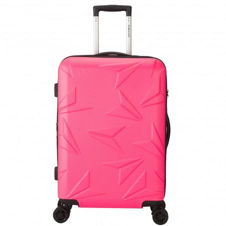 Decent Q-Luxx Koffer 77cm Expandable Roze