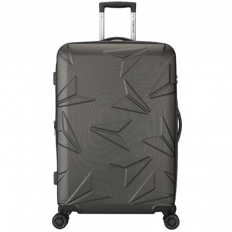 Decent Q-Luxx Koffer 77cm Expandable Antraciet BT
