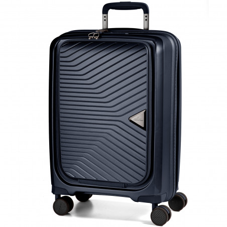 March Gotthard Met Laptopvak Koffer 55cm Koffer 55cm Navy