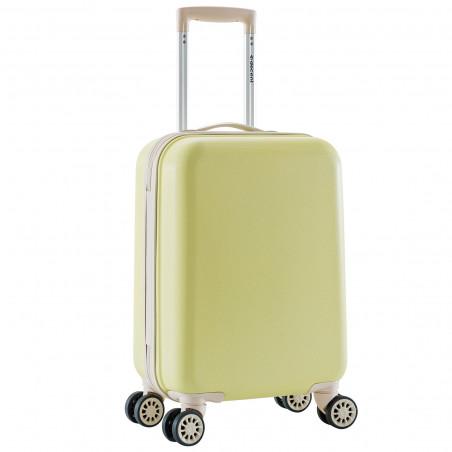 Decent Star Maxx Handbagage Koffer 55cm Pastel Geel BT