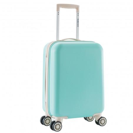 Decent Star Maxx Handbagage Koffer 55cm Pastel Groen
